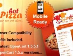 HotPizza OpenCart Theme