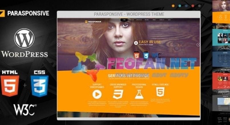 Parasponsive WordPress