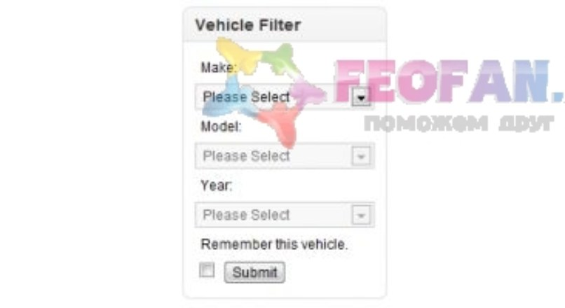 Vehicle Year Make Model Engine Filter (YMME Filter 2.17)