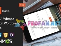 Mega Host 1.3 WordPress