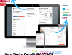 One page super quick checkout русификатор