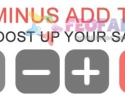 Plus Minus Increase Decrease Quantity Add To Cart (vQmod)