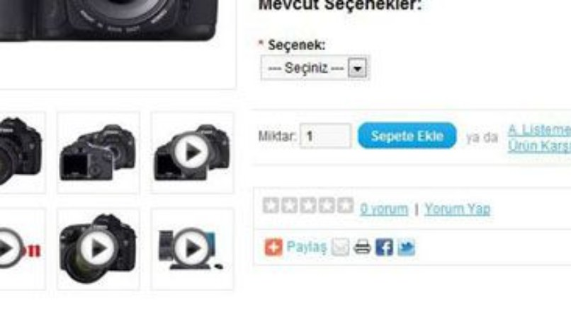 Product Video — video adds to the product Opencart