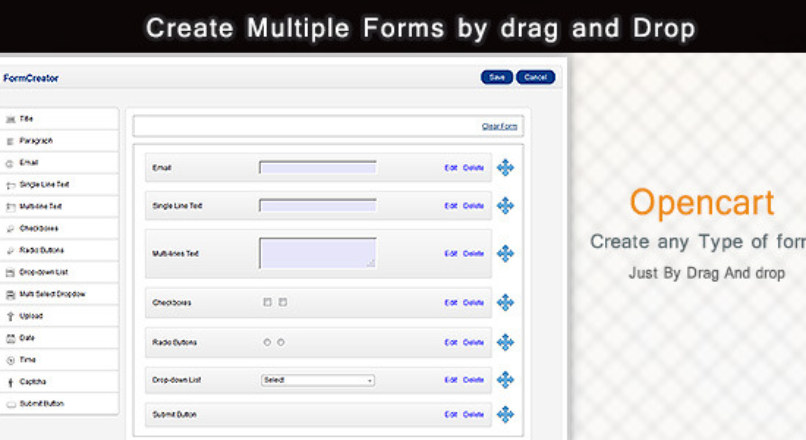 Create Multiple Forms