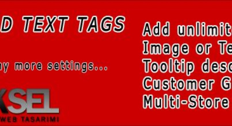 Image and Text Tags 1.5.x [vQmod]