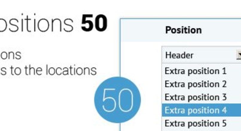 EXTRA Positions 50 MAX