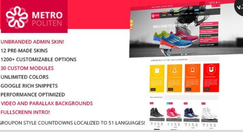 Metropoliten — Responsive OpenCart theme with blog