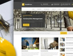 BuildPress — WP Theme For Construction Business
