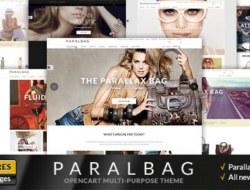 Opencart Fashion Bag Store — Parallax