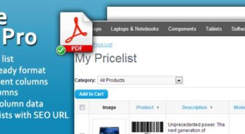 Wholesale Pricelist pro