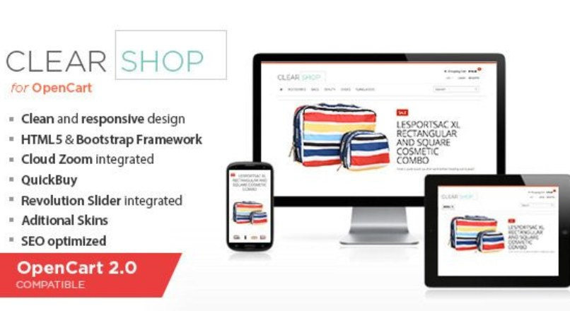 Clearshop — Responsive OpenCart theme