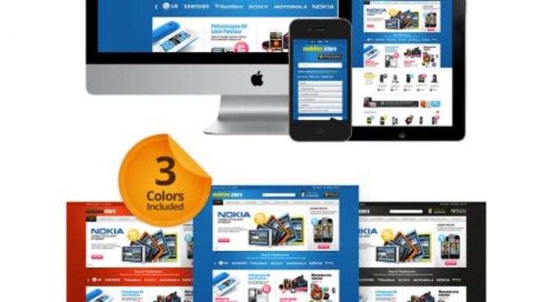 Mobile Store Responsive OpenCart Theme