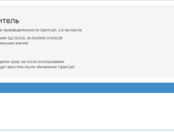 OpenCart Turbo Ускоритель