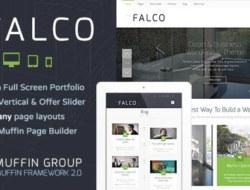 Falco — Responsive Multi-Purpose WordPress Theme
