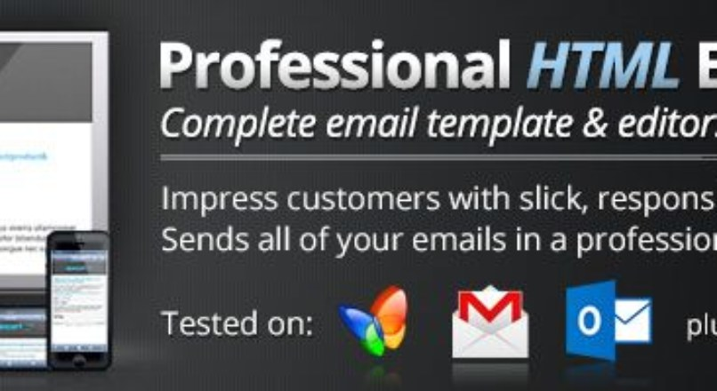 Advanced Professional Email Template [Latest Version:2.4.1]