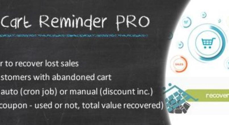 Abandoned Cart Reminder Pro v2.2