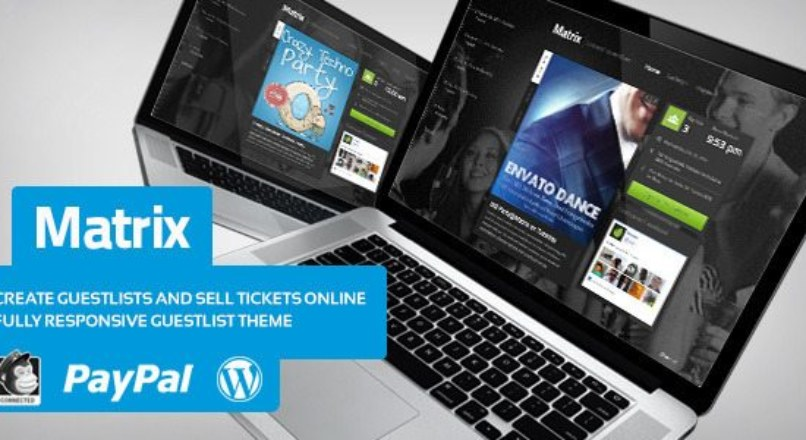 Matrix — Event Guest List WordPress Theme