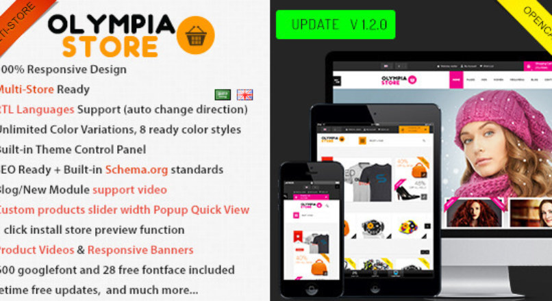 Olympia — Premium Multi-Purpose Opencart Theme