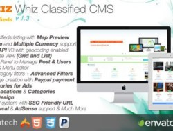 WhizClassified — Classifieds CMS