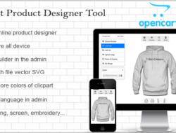 Opencart Custom Product Designer 3.0.0