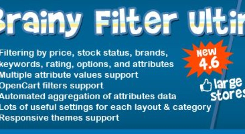 Brainy Filter Ultimate / The most advanced & elegant filter