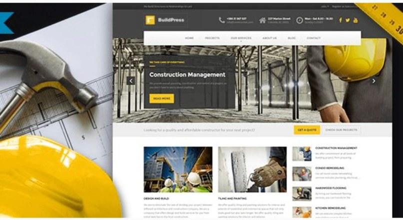 BuildPress — Construction Business WP Theme v. 3.1.0