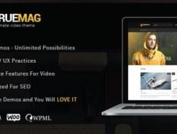 True Mag v4.0.9 – WordPress Theme for Video and Magazine