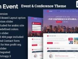 im Event v2.7 – Event & Conference WordPress Theme