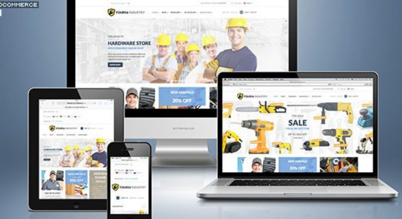 456 Industry v1.3.5 – Repair Tools Shop & Construction / Building WP Theme