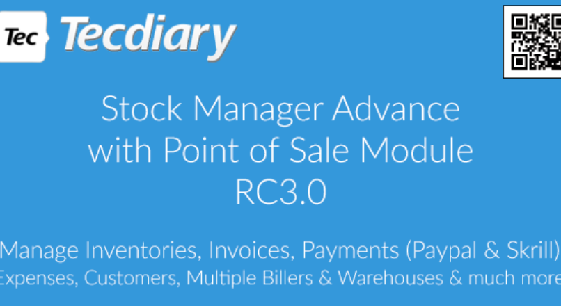 Stock Manager Advance with Point of Sale Module RC 3.0.1.14