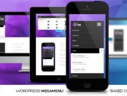 LMM v1.1.3 – WordPress Responsive Mega Menu based on Bootstrap