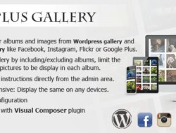 Plus Gallery v3.0.0 – A Responsive photo WP gallery and Social gallery