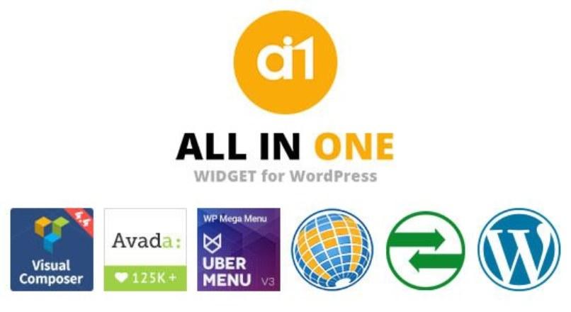 All In One Widget for WordPress v1.0.1