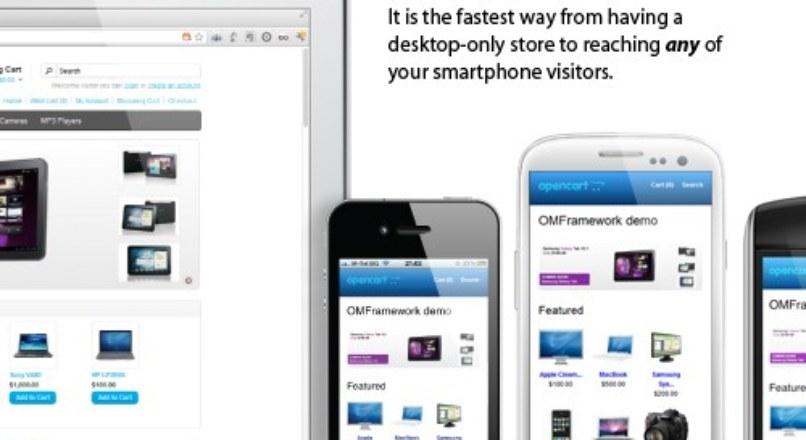 Opencart Mobile Framework 2.3.0
