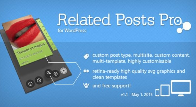 Related Posts Pro v1.1 for WordPress