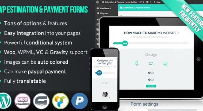 WP Estimation & Payment Forms Builder v9.3.7