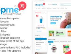 Themeforest ShopMe v1.4 – Multipurpose Opencart Theme