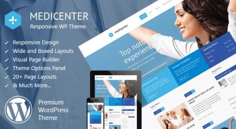 MediCenter v7.9 – Responsive Medical WordPress Theme