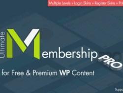 Ultimate Membership Pro WordPress Plugin v2.4.3