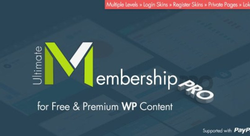 Ultimate Membership Pro WordPress Plugin v2.4.3