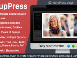 PopupPress v2.18 – Popups with Slider & Lightbox for WP