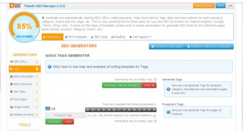 Paladin Seo Manager 4.9.9 Nulled By Evilhit