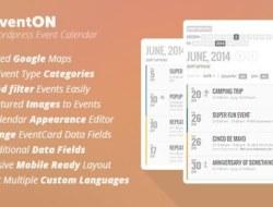 EventOn v2.3.15 – WordPress Event Calendar Plugin