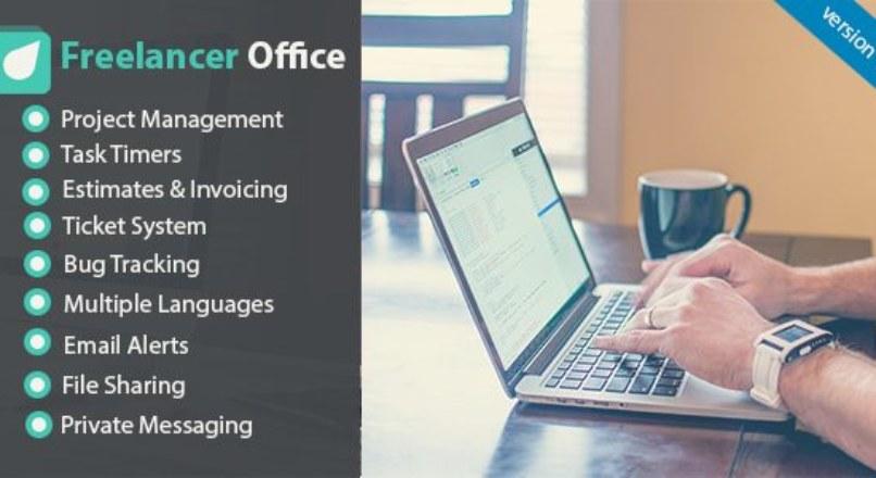 Freelancer Office v1.7.4 – Project Management Tools