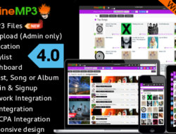 CodeCanyon — WineMP3 v4.0 — Music Search Engine With MP3 Uploading