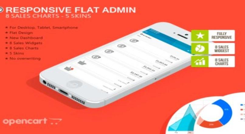 Responsive Flat Admin