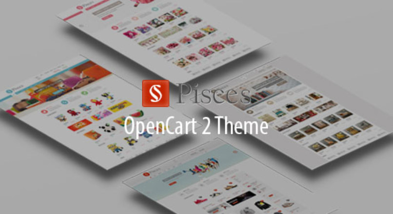 Pisces — Multipurpose Responsive OpenCart Theme