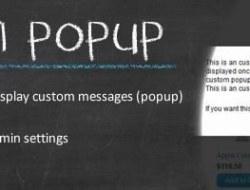 Custom Popup — OC2.x