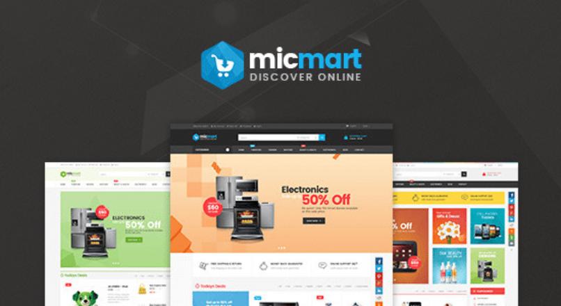 Lexus Micmart — Innovative Digital Opencart Themes