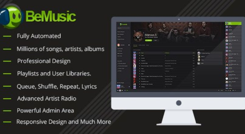 BeMusic v2.0.3 — Music Streaming Engine